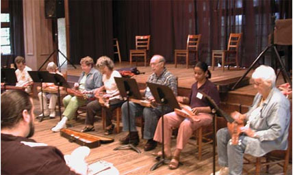 Dulcimer Class at John C. Campbell Folk School