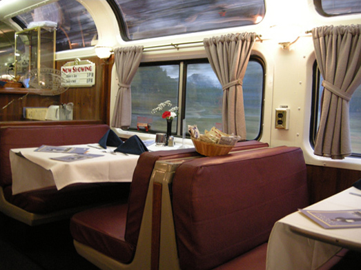 Coast Starlight Dining Room